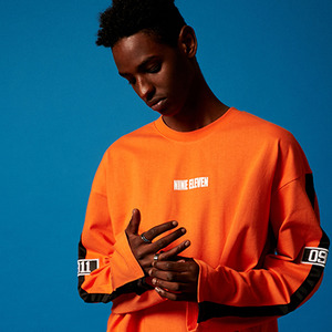 [65% sale]  The Long Sleeve tee - Orange
