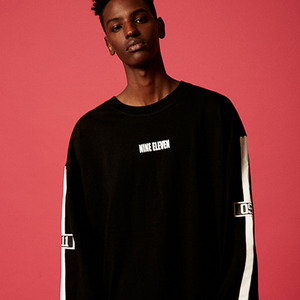 [65% sale]  The Long Sleeve Tee - Black
