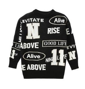 Levitate Knit crewneck -B